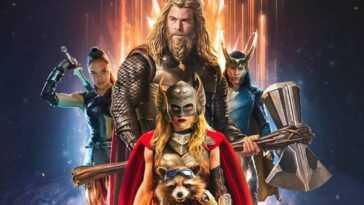 La Superbe Nouvelle Affiche De Thor: Love And Thunder Fan