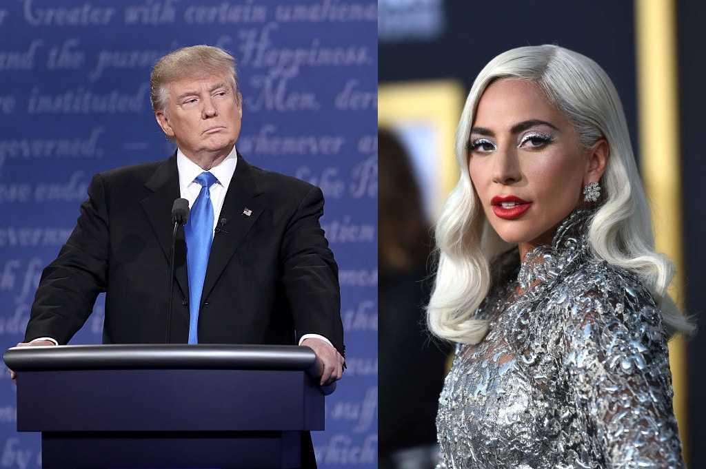 Lady Gaga éviscère Donald Trump Alors Qu'il La Claque Pour