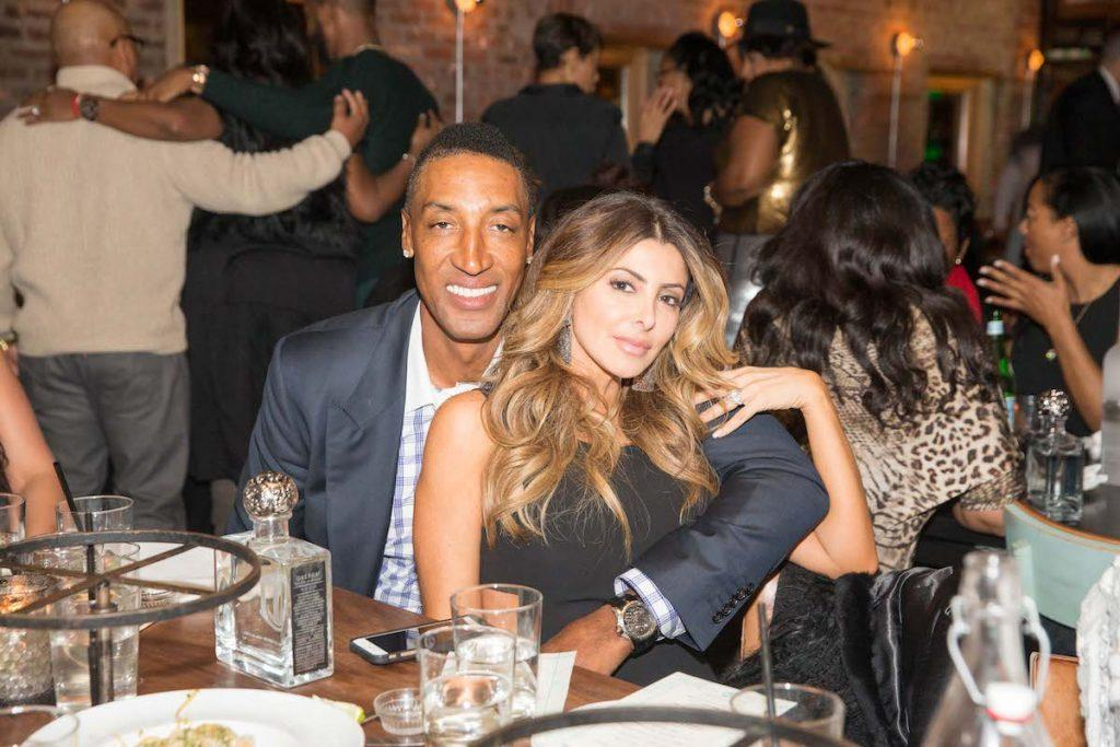 Scottie Pippen and Larsa Pippen
