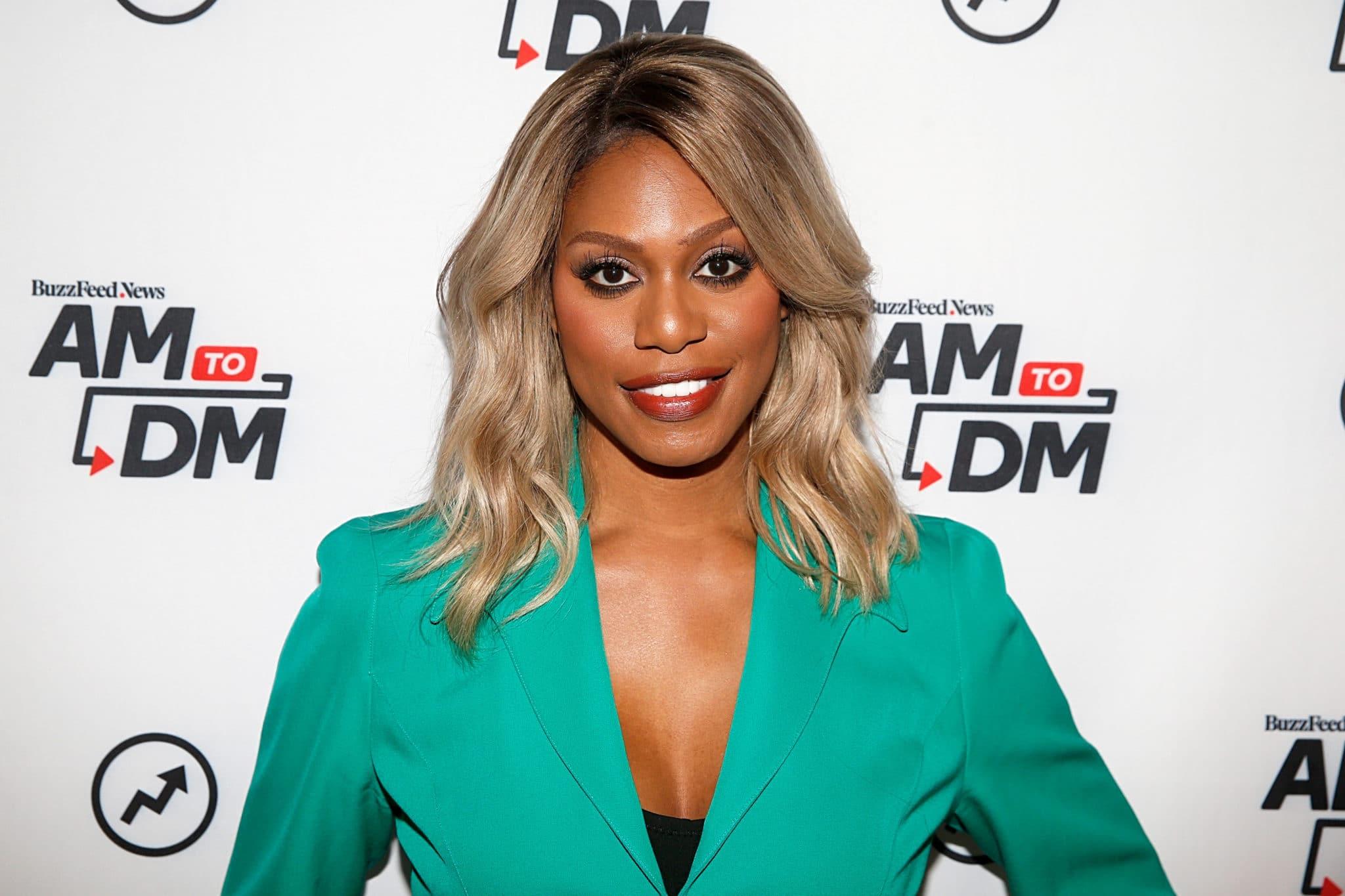 Laverne Cox assiste à BuzzFeed's AM To DM le 07 octobre 2019 à New York.