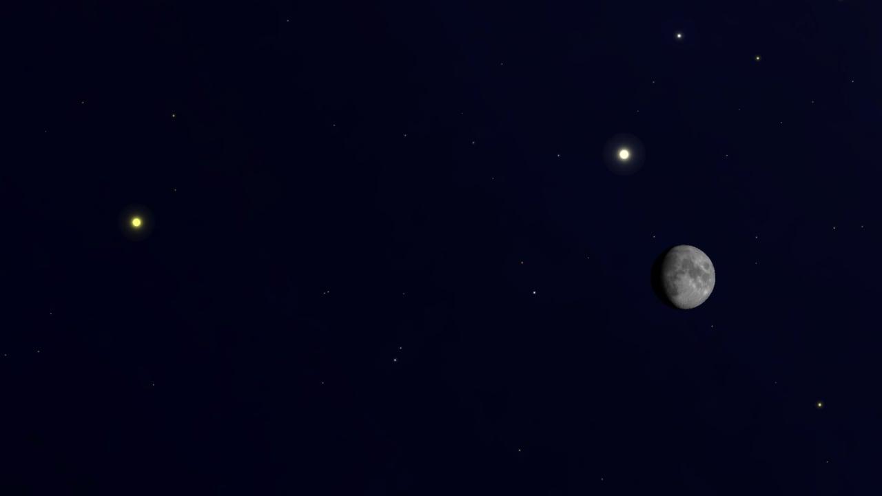 Le ciel de Noël 2020 verra Jupiter et Saturne dans un rare double alignement de planète