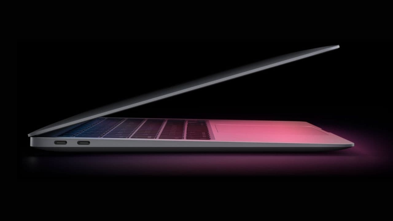 Le Nouveau Macbook Air D'apple Avec Chipset M1 Surpasse Le