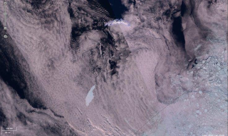 Le Plus Grand Iceberg Du Monde Est Sur Une Trajectoire
