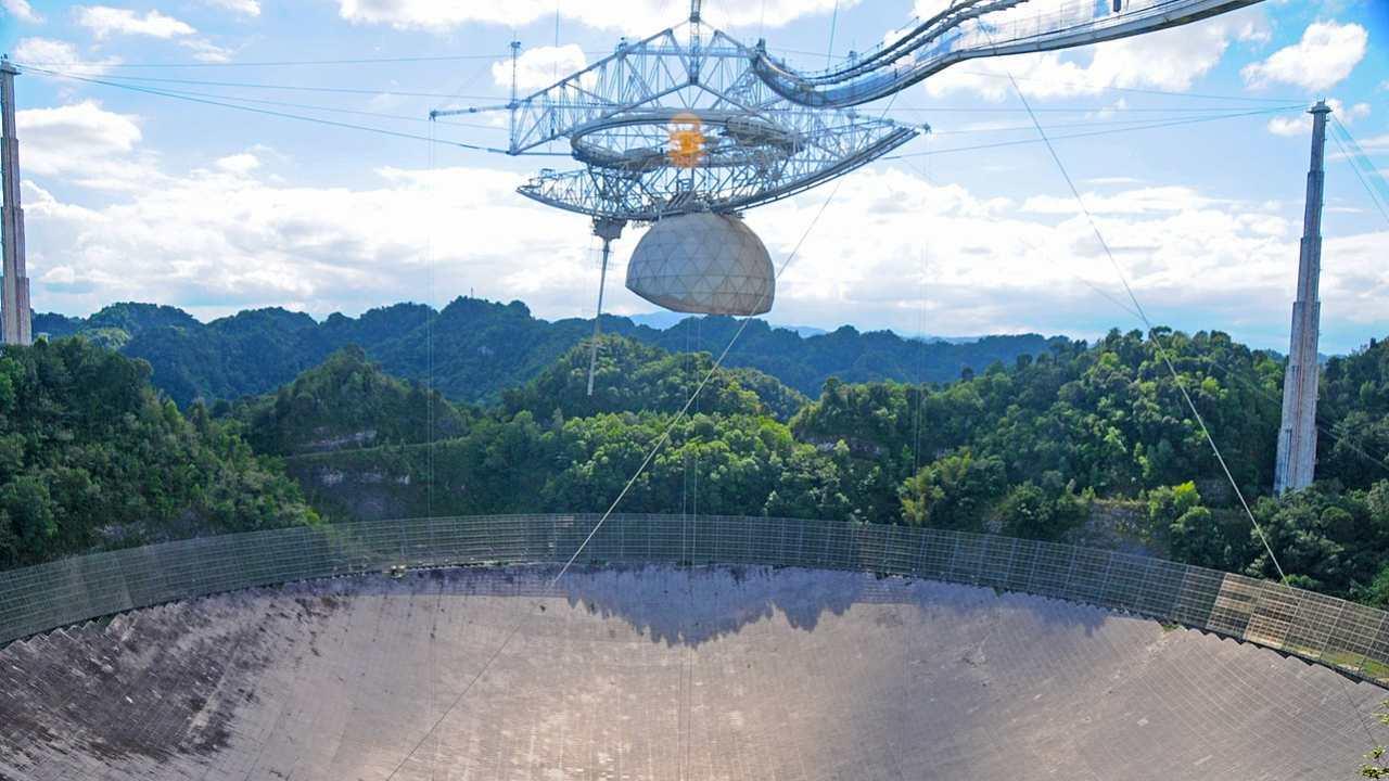 Le télescope portoricain Arecibo est en train de s'effondrer, ce qui inquiète les scientifiques pour leurs recherches