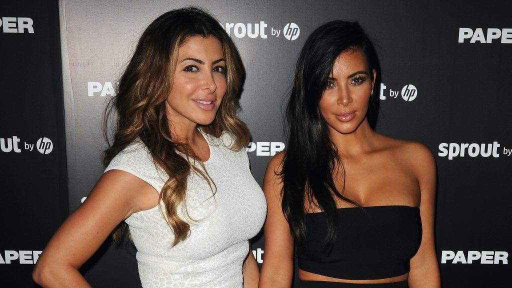 Larsa Pippen and Kim Kardashian West