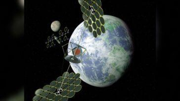 Les Centrales Solaires Dans L'espace Pourraient être La Réponse à