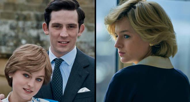 Prince Charles et Diana The Crown saison 4