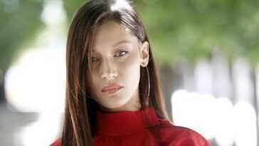 US model Bella Hadid