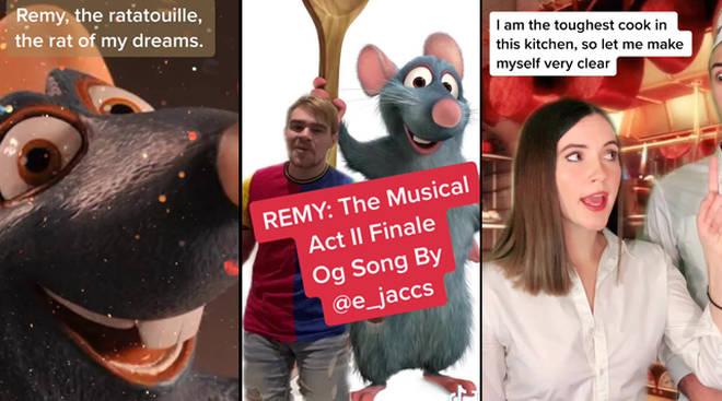 TikTokers a créé une comédie musicale Ratatouille entière et