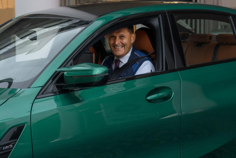 Robert Engelhorn, directeur de l'usine BMW Group de Munich