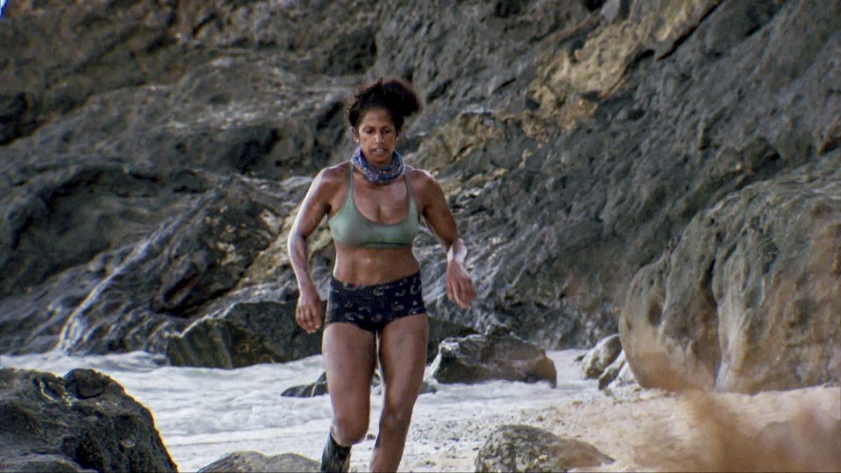 Natalie Anderson sur le treizième épisode de deux heures de `` Survivor: Winners at War ''