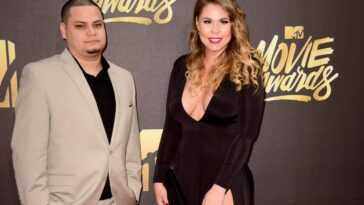 Jo Rivera and Kailyn Lowry at the 2016 MTV Movie Awards