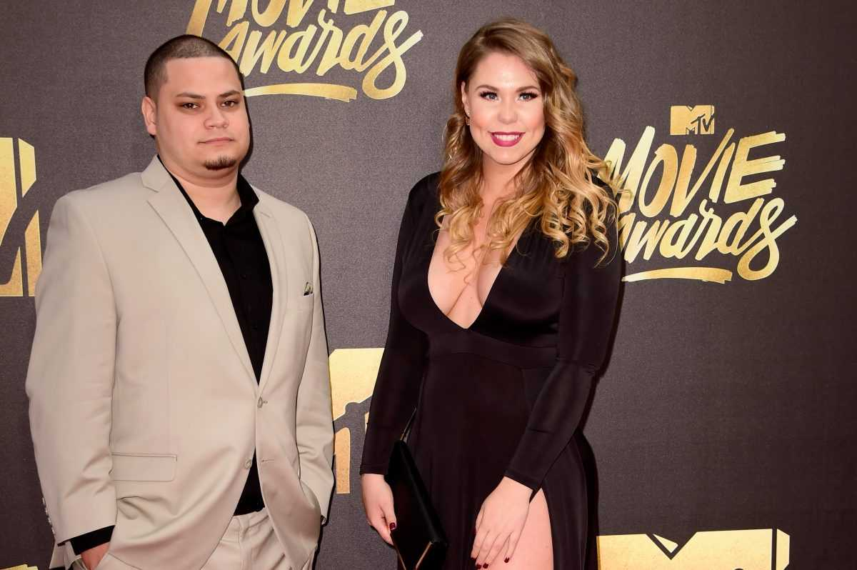Jo Rivera and Kailyn Lowry at the 2016 MTV Movie Awards