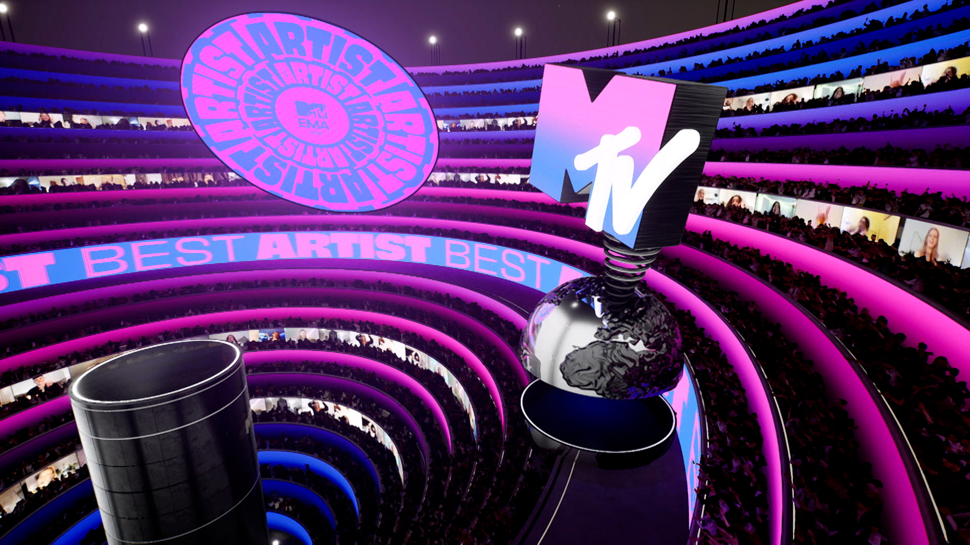 MTV EMA, gagnants