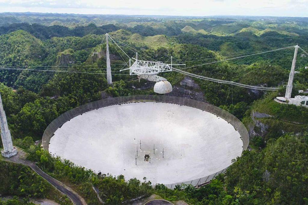 L'observatoire D'arecibo `` Chasse Aux Extraterrestres '' Subit Plus De