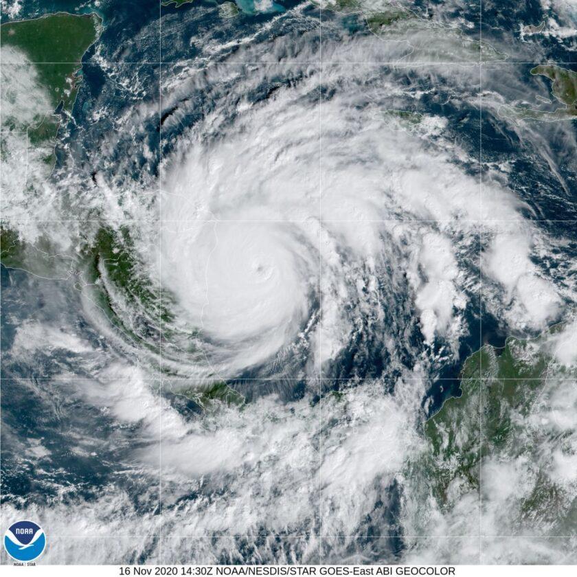 L'ouragan Iota, Un Record, Se Dirige Vers L'amérique Centrale (photo