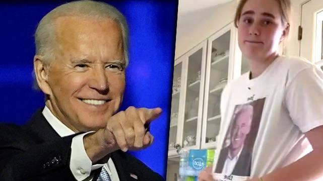 Maisy, La Petite Fille De Joe Biden, Célèbre Sa Victoire Sur