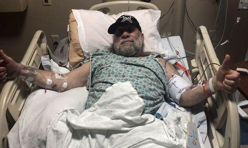 Mark Coleman à L'hôpital Après Une Crise Cardiaque