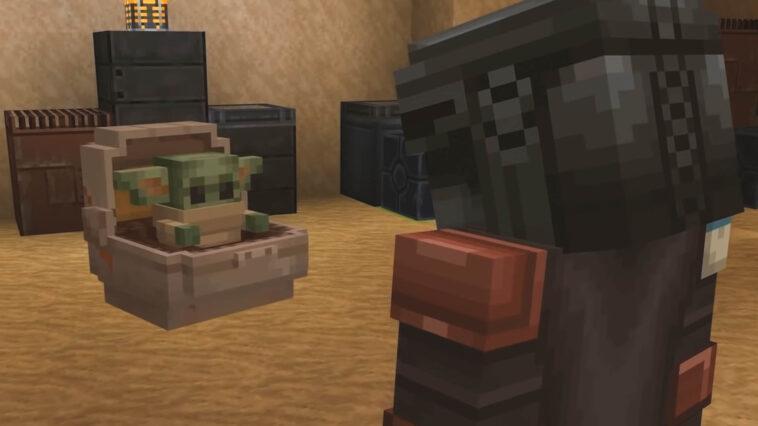 Minecraft Dlc Apporte Mando, Baby Yoda Et Plus De Star