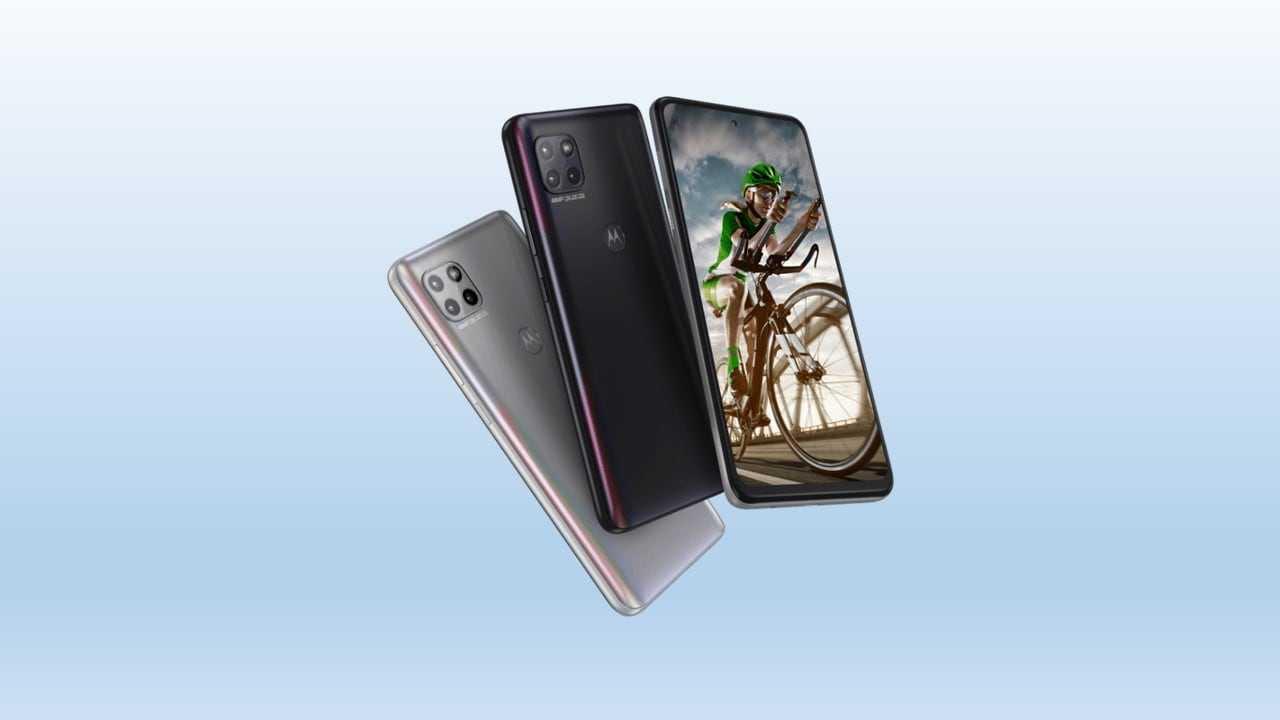 Motorola G 5G avec une batterie de 5000 mAh, un écran perforé lancé à 20999 Rs
