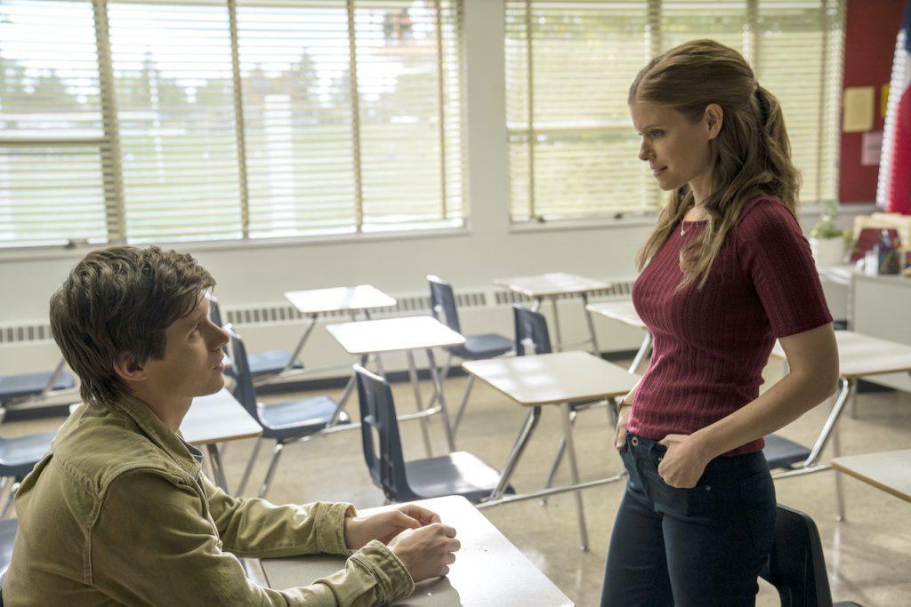 Nick Robinson et Kate Mara un enseignant