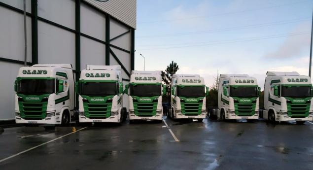 Olano Renouvelle Sa Flotte Avec 18 Unités Scania R 450