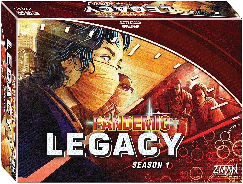 Pandemic: Legacy jeu de société
