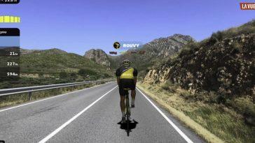 Participer à vélo sur l'Alto de l'Angliru depuis le salon: c'est ainsi que La Vuelta a España veut engager virtuellement les spectateurs
