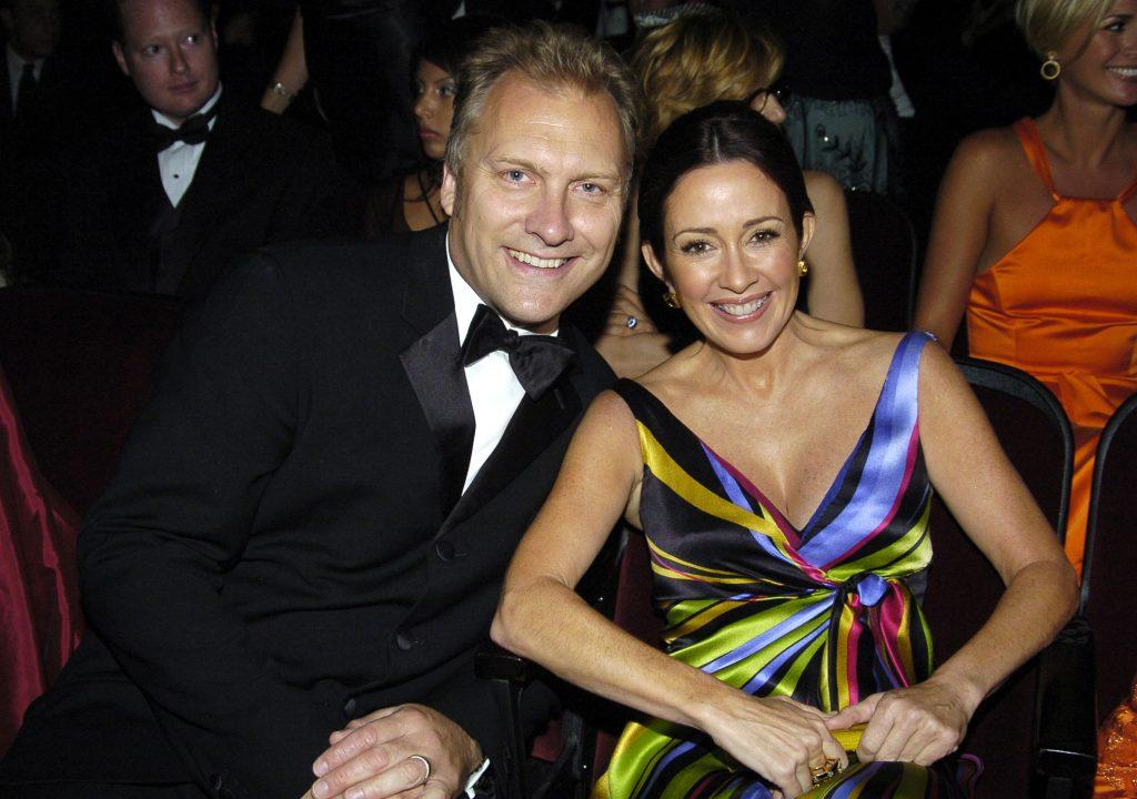 Patricia Heaton, right, with husband, actor and producer David Hunt