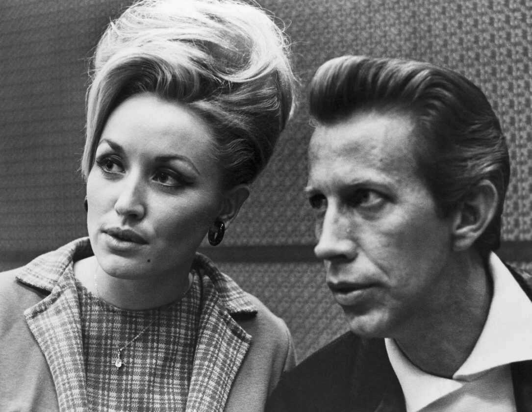 Dolly Parton and Porter Wagoner in 1968