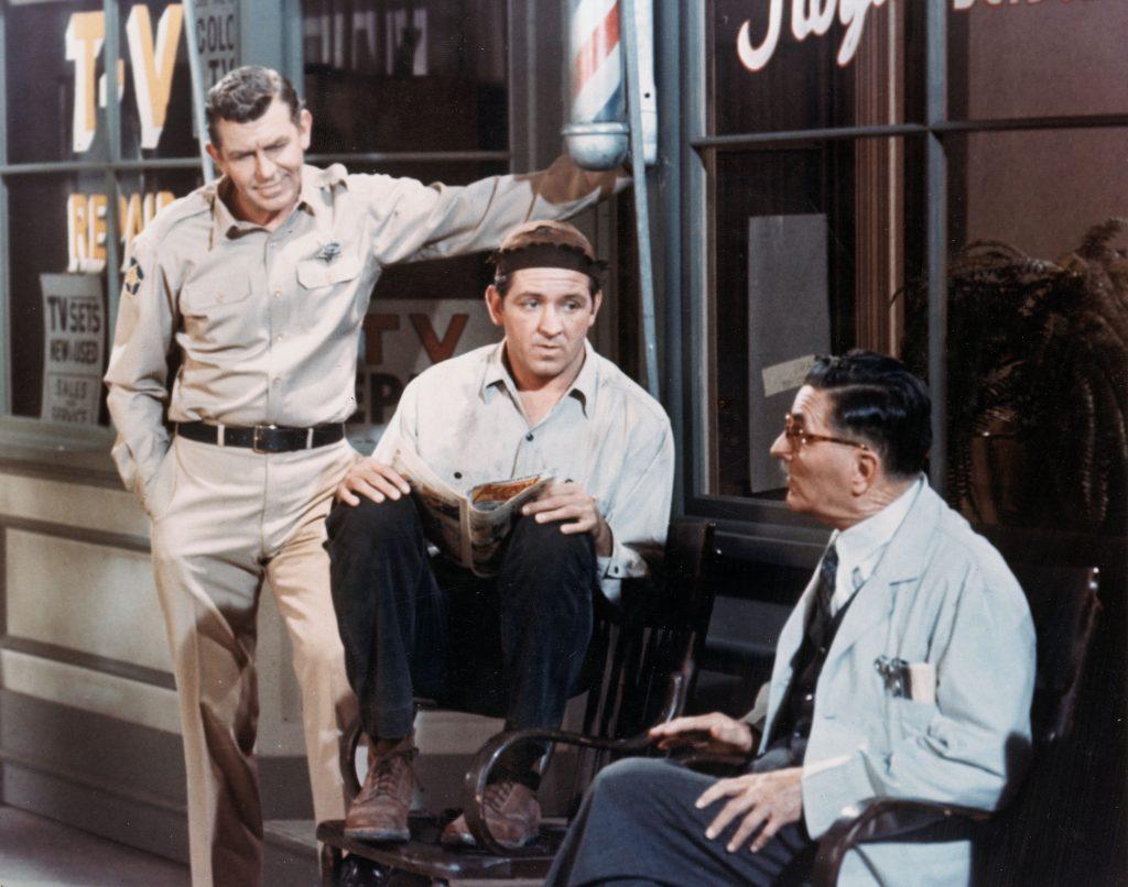Une scène de 'The Andy Griffith Show'