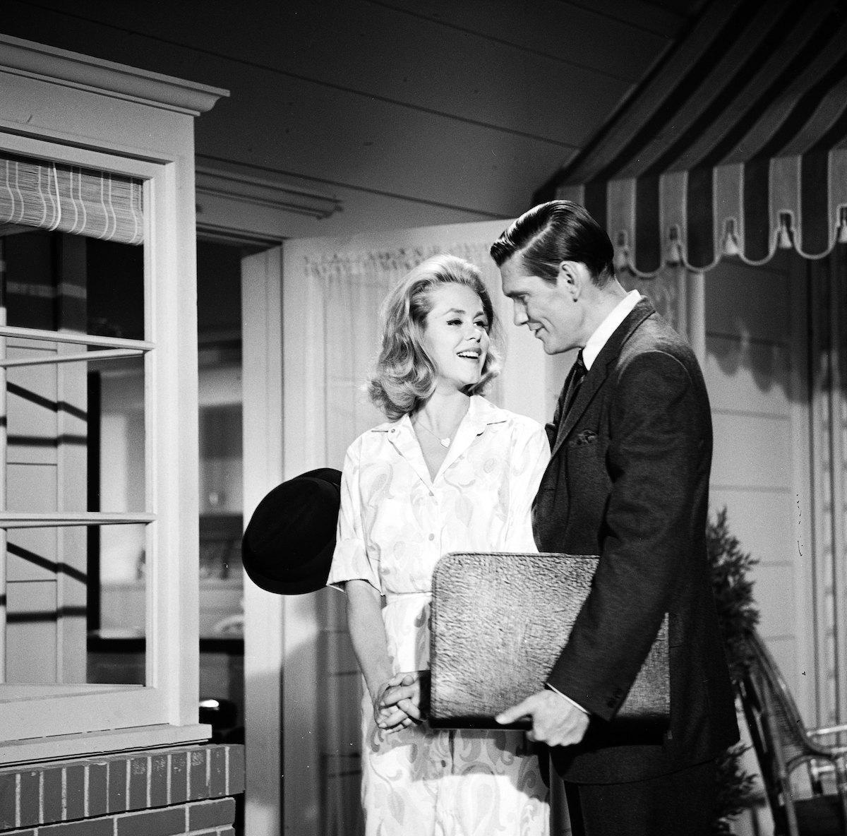 Elizabeth Montgomery et Dick York