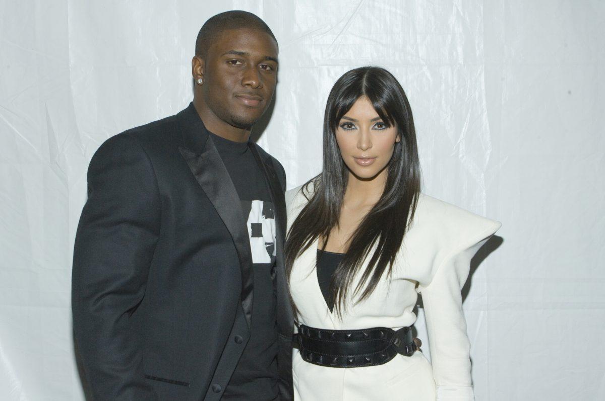 Reggie Bush and Kim Kardashian West