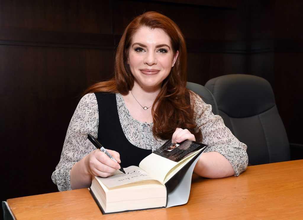 Stephenie Meyer author of the Twilight books
