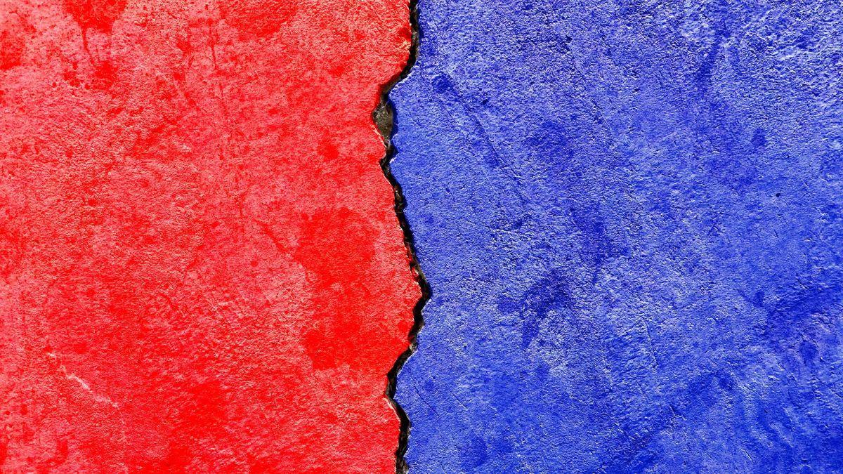 Pourquoi Le Rouge Pour Les Républicains Et Le Bleu Pour