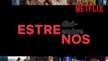 Première Netflix en décembre 2020: nouvelles séries et films