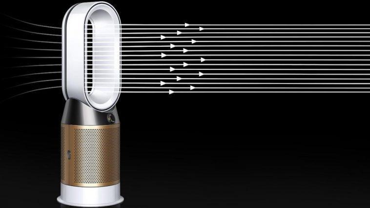 Purificateur D'air Dyson Pure Hot + Cool Cryptomic Lancé En