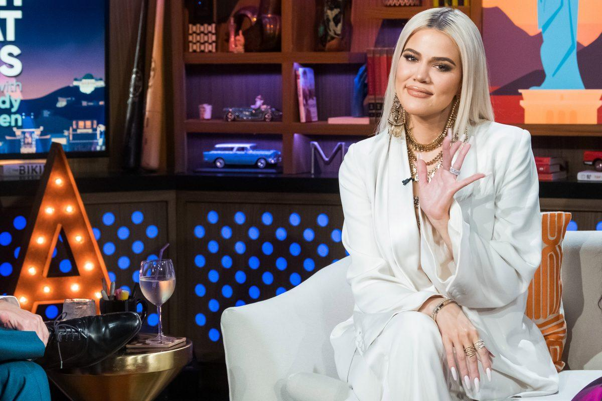 WATCH WHAT HAPPENS LIVE WITH ANDY COHEN -- Pictured: Khloe Kardashian.