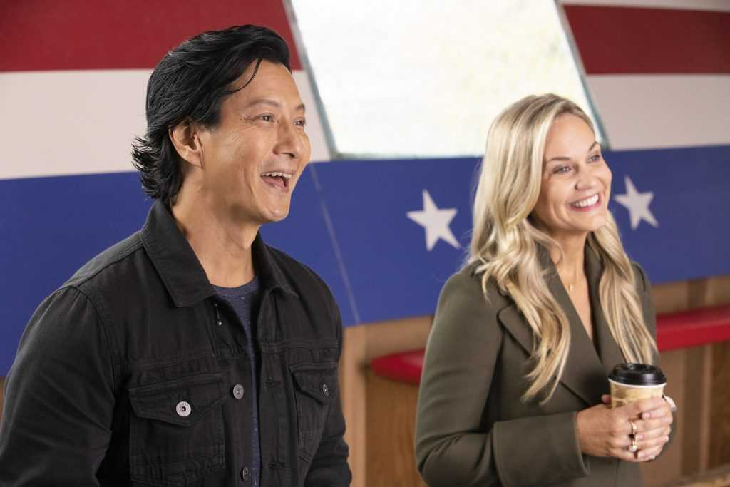 Will Yun Lee and Jennifer Birmingham Lee on The Good Doctor