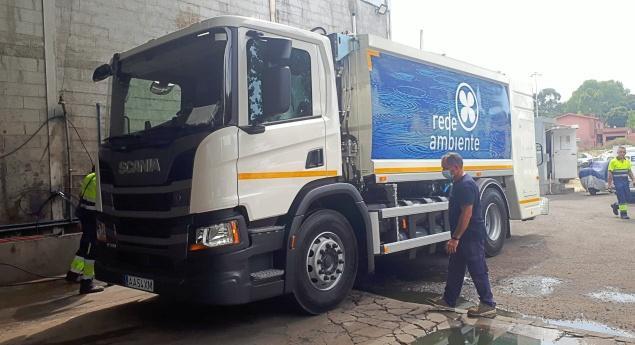 Rede Ambiente Intègre La Flotte De Camions Scania Gnc