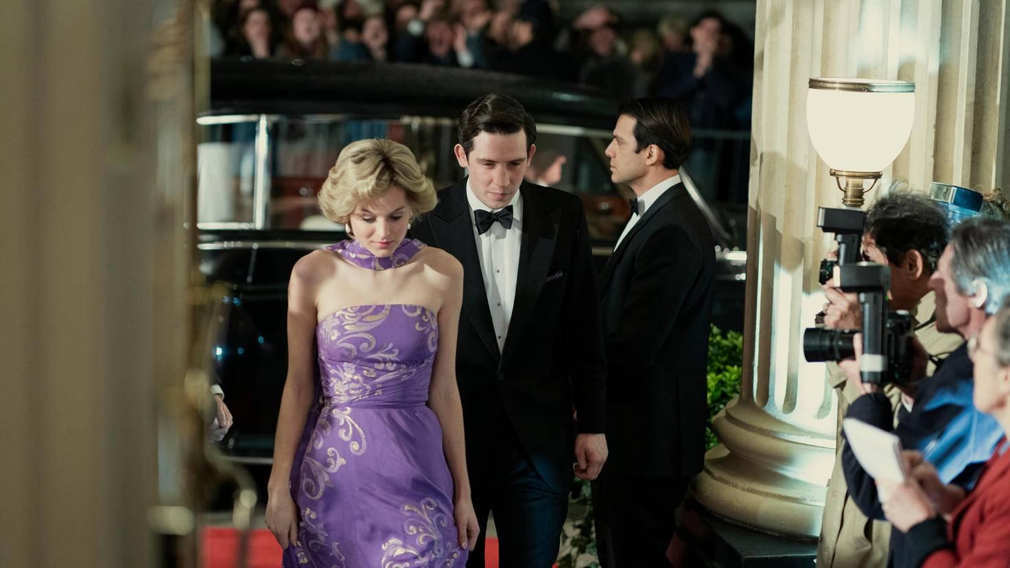The Crown Saison 4 Diana Lady di Emma Corrin Prince Charles Josh O'Connor