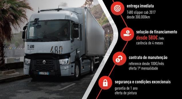 Renault Trucks. Nouvelle Campagne De Camions D'occasion D'ici Fin 2020