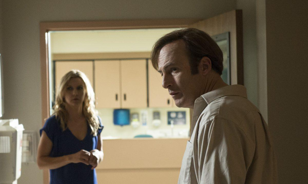 Rhe Seehorn and Bob Odenkirk