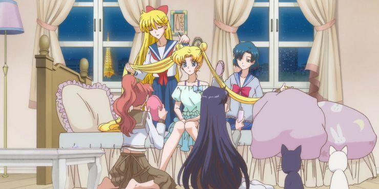 Sailor Moon Crystal Friendship