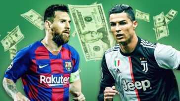 Salaire Footballeur Messi Gagne Deux Fois Plus Que Cristiano Et Simeone, Soit Deux Millions De Plus Que Zidane