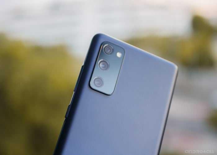 Caméras arrière du Galaxy S20 FE