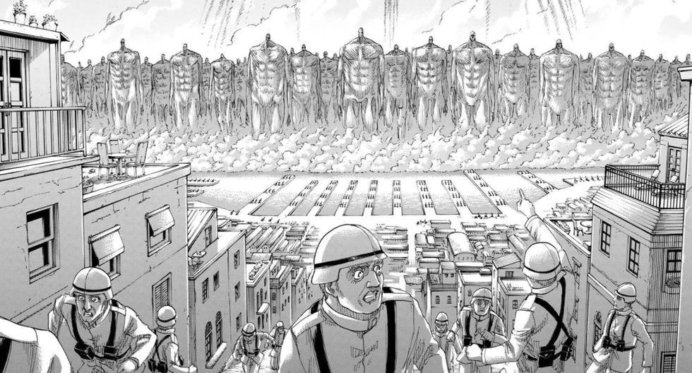 Shingeki no Kyojin: explication du grondement de la Terre, la fin du monde d'Attack on Titan |  Qu'est-ce que c'est et qu'est-ce que cela signifie |  Attaque sur Titan |  Manga |  Série Crunchyroll nnda nnlt |  LA CÉLÉBRITÉ