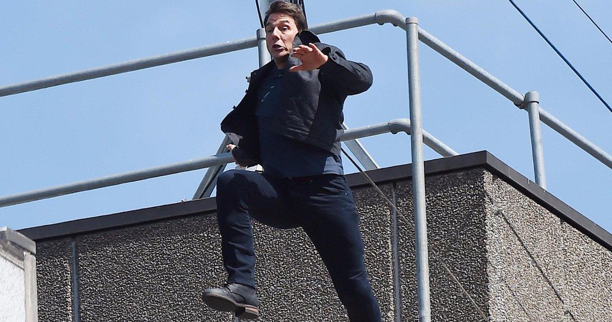 Simon Pegg Est Terrifié à Chaque Fois Que Tom Cruise