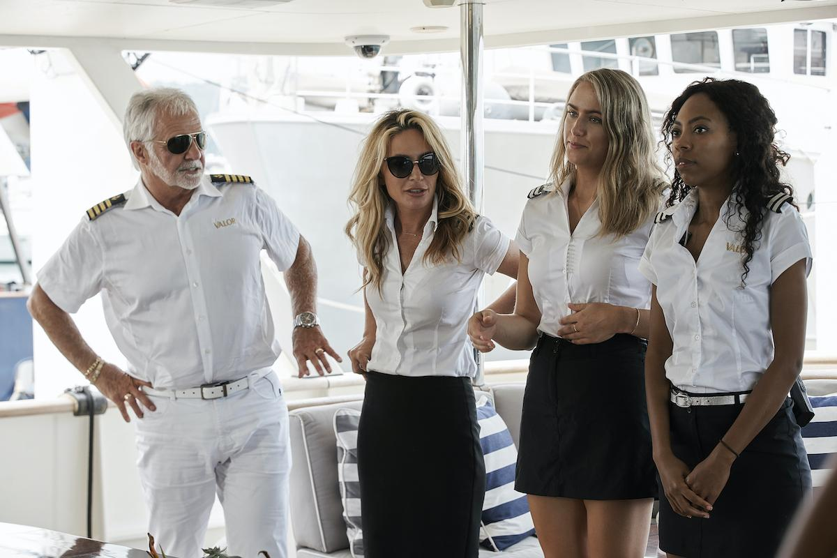 Capitaine Lee Rosbach, Kate Chastain, Courtney Skippon, Simone Mashile