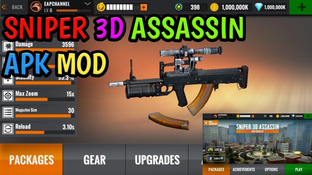 Sniper 3d Mod Apk: Explorez Toutes Les Nouvelles Fonctionnalités Débloquées!